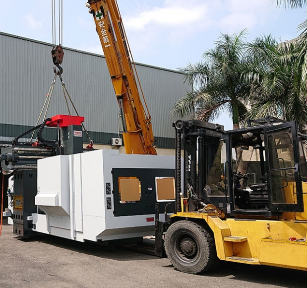 Machine Movement, Factory Relocation, Container Loading