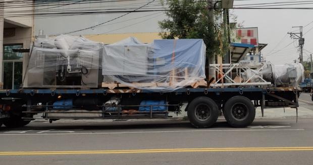 科技廠機器設備搬遷吊掛